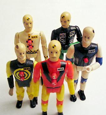 Muñecos Dummie para test de colisión de vehículos