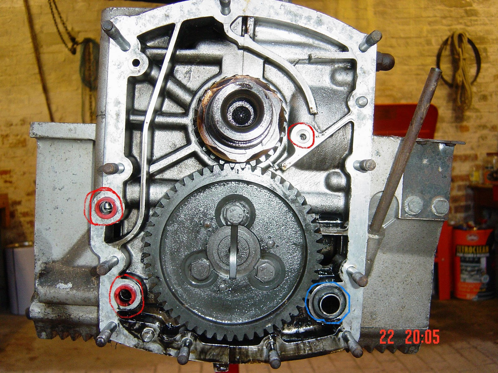 porsche 356 engine build rebuild repair 8 fitting the. Black Bedroom Furniture Sets. Home Design Ideas