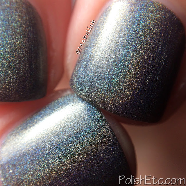 KBShimmer Winter Holos - McPolish - Coal in One