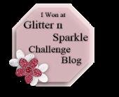 Glitter n Sparkle challenge winner