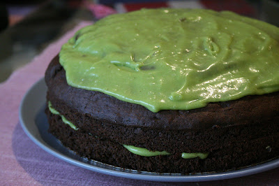 Yes, this really is a vegan chocolate cake made with avocado