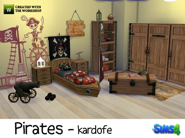 my sims 4 blog pirates bedroom set by kardofe