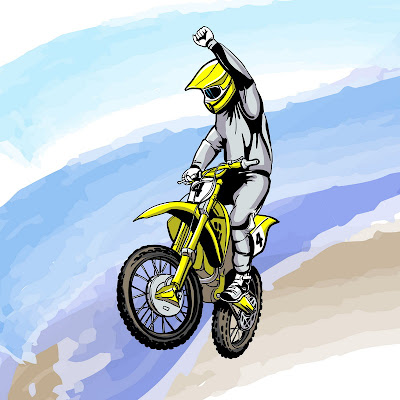 image moto-cross