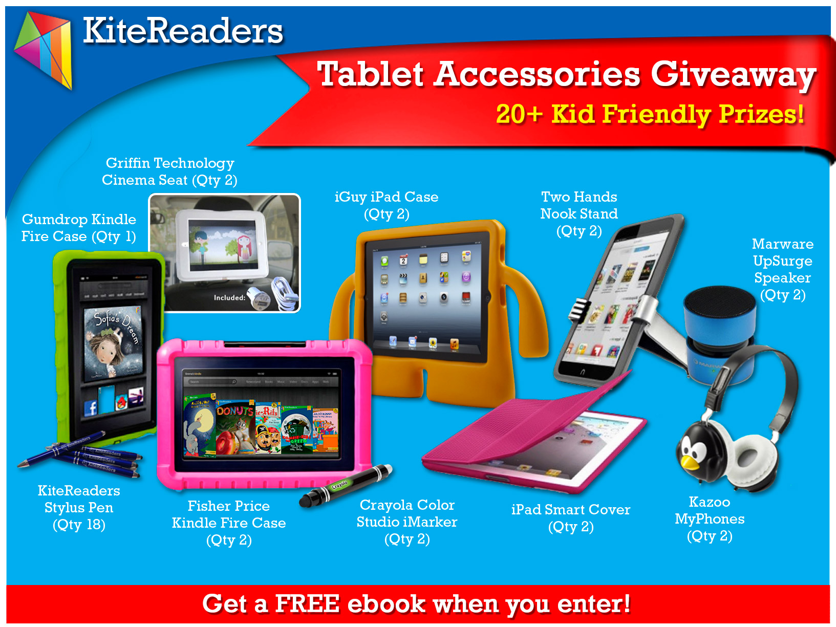 Tablet Accessories Giveaway