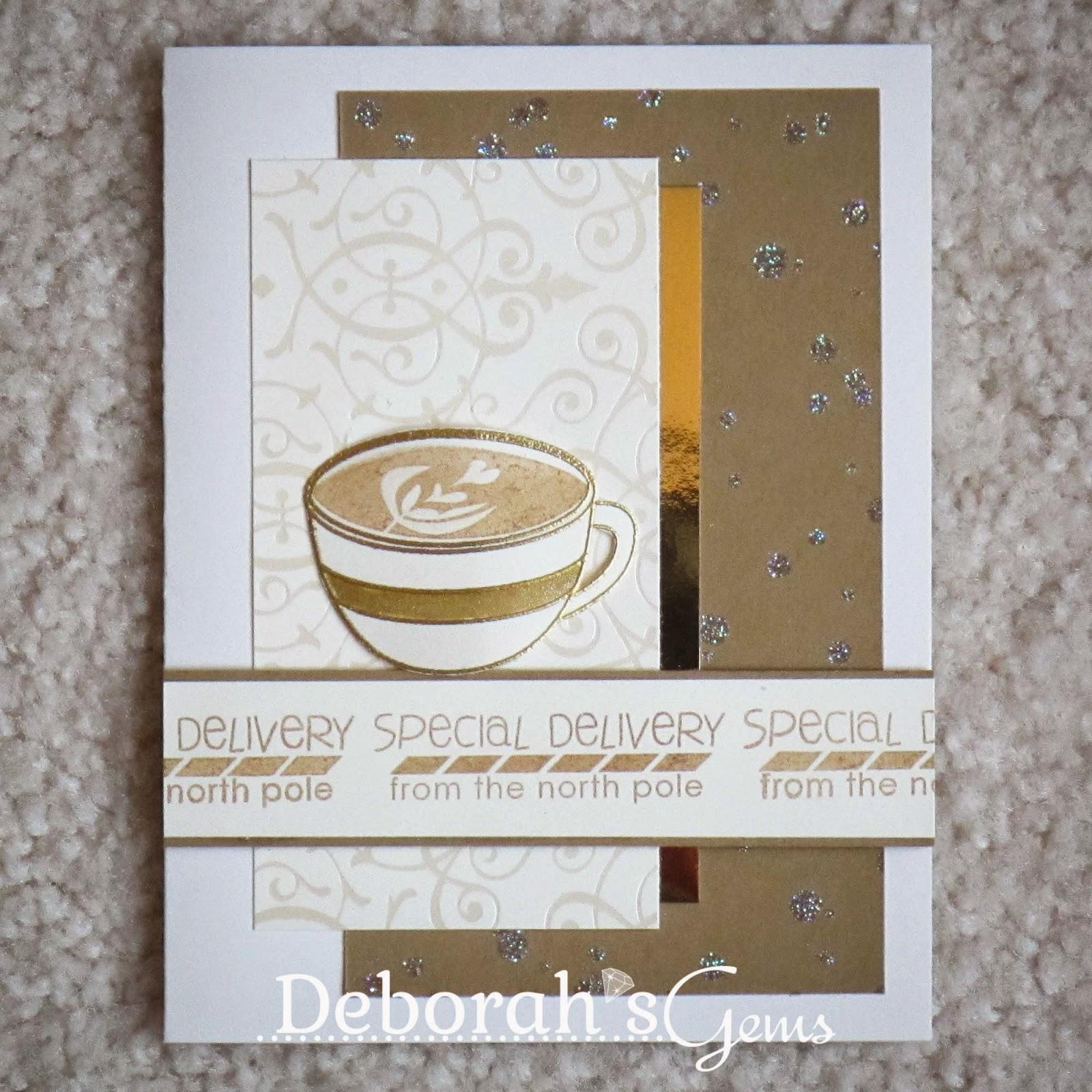 Special Delivery sq - photo by Deborah Frings - Deborah's Gems