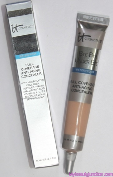 IT Cosmetics Bye Bye Under Eye Concealer review - Cosmetopia ...
