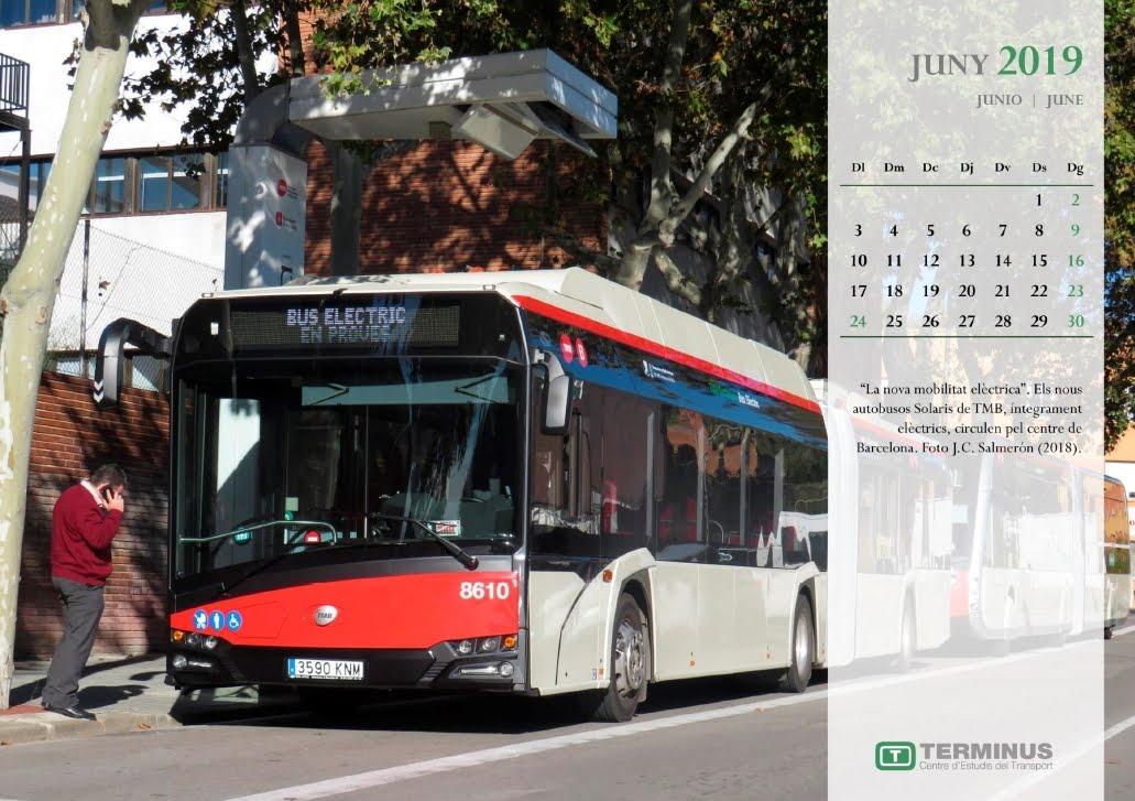 Calendari - Juny del 2019