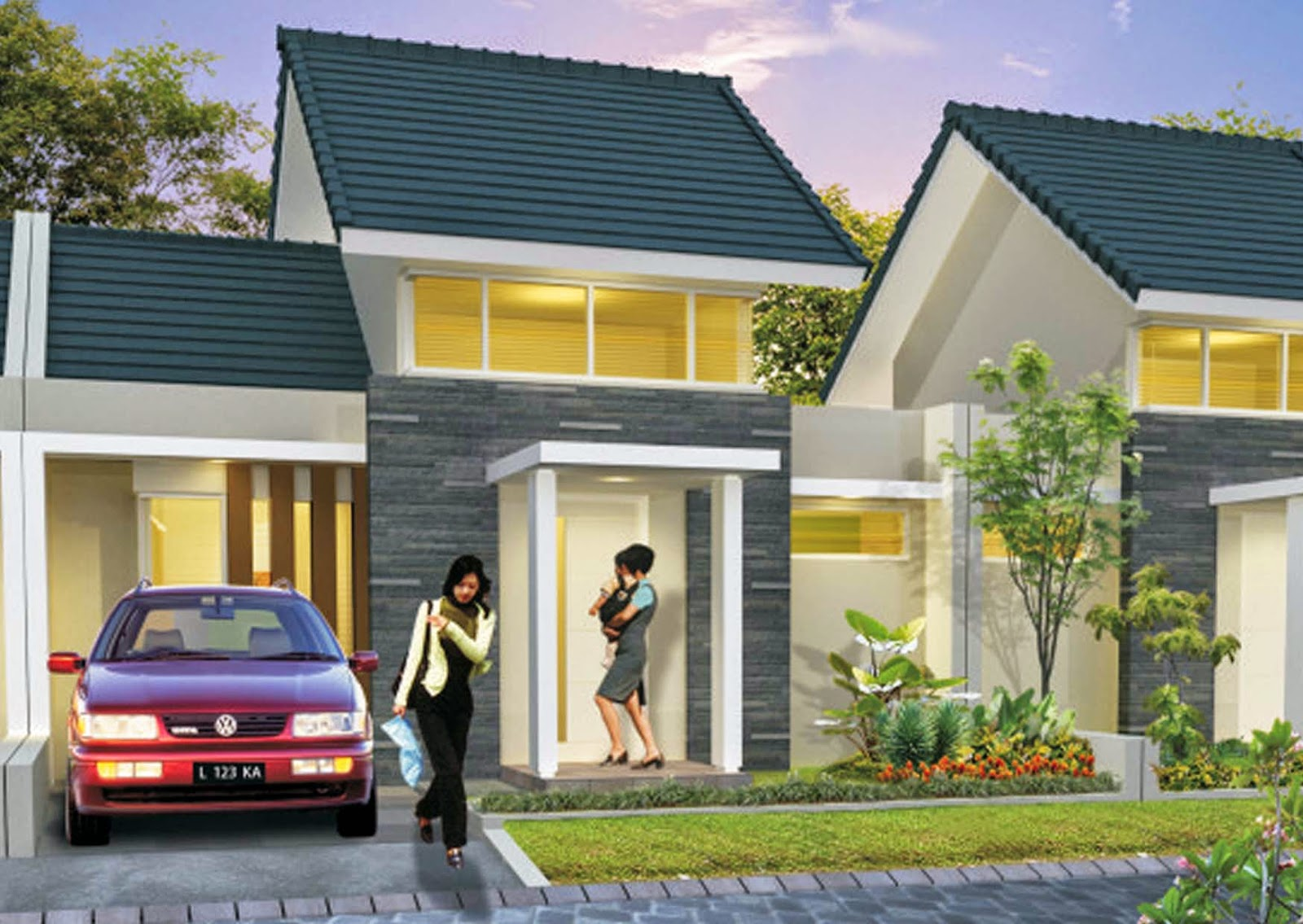type rumah minimalis terbaru