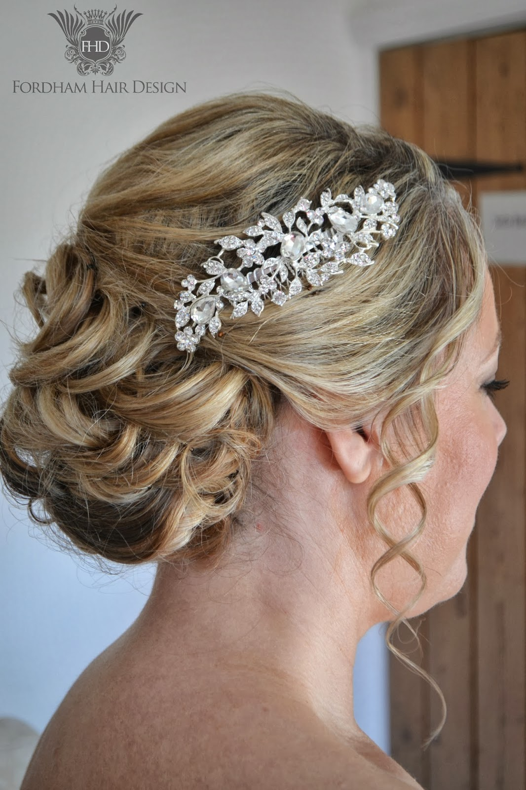 Wedding hair accessories gloucestershire - Wedding Bridal Hair Specialist November 2013