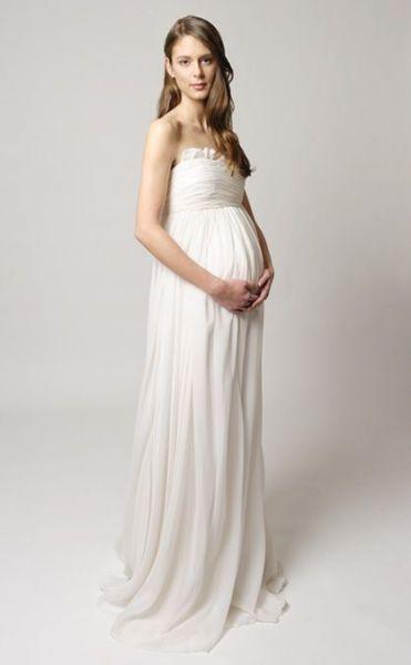 Baño De Tina Para Embarazadas:Novias Novios y mas: Vestidos de Novia para Embarazadas Tina Mak