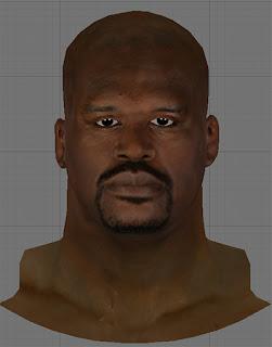 NBA 2K13 Old Shaq w/ Beard Cyberface Patch
