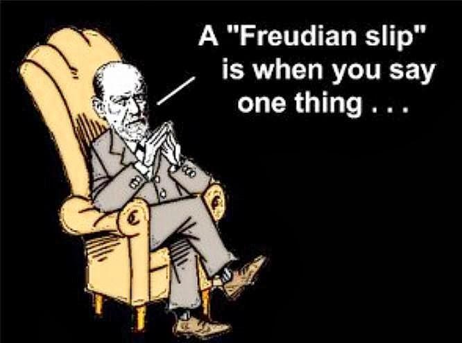 Freudian slip - YouTube