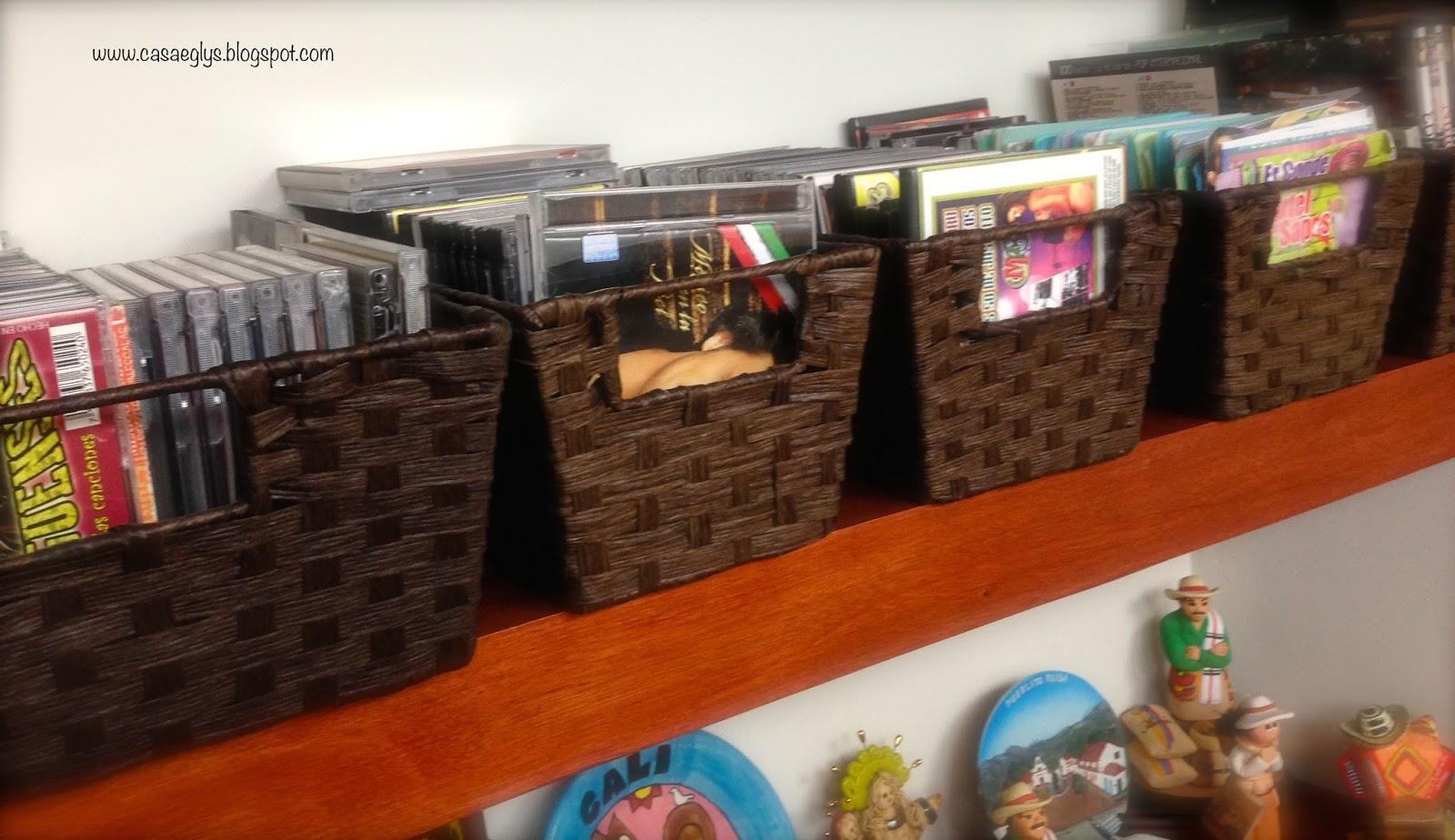 Casa eglys organizaci n organizando con cestas y - Juegos de organizar casas ...