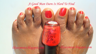 OPI's A Good Man Darn is Hard to Find