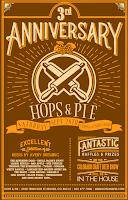 Hops & Pie 3rd Anniversary