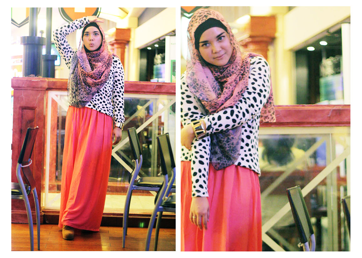 STYLE STEAL Animal Print Tutorial Hijab Zaskia