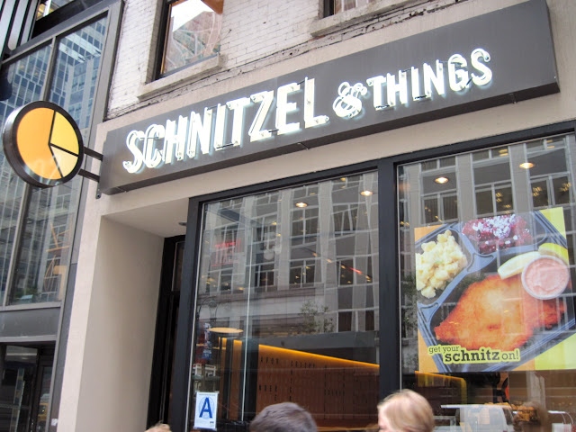 When dining in New York you can't miss Schnitzel & Things