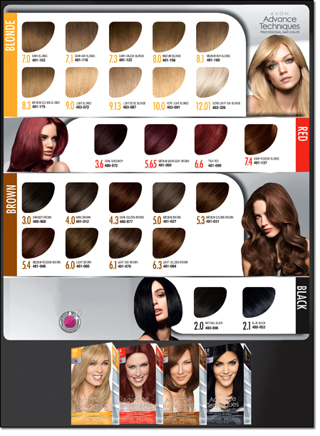 The Life Challenge: Avon\'s NEW Advance Techniques Hair Color...I ...