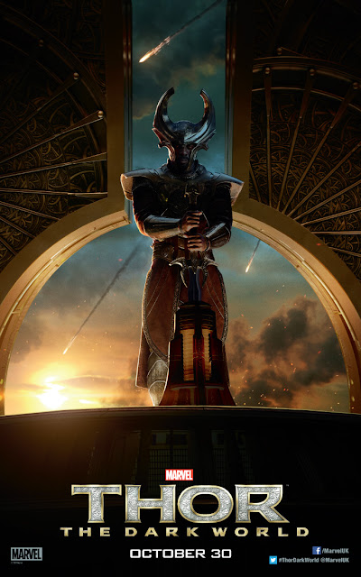 Thor: The Dark World Idris Elba Heimdall Character Banner