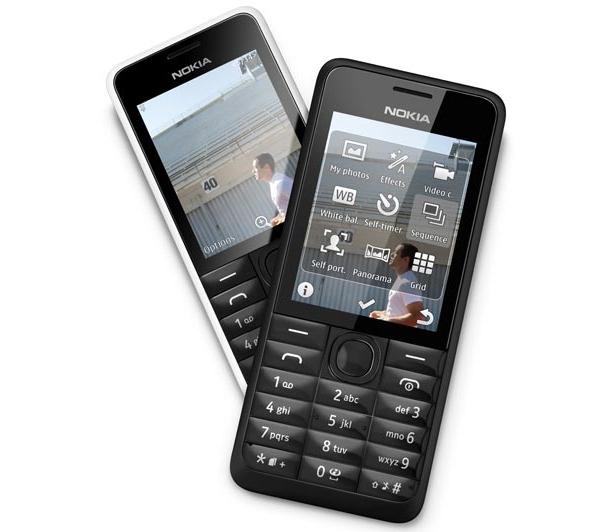 Nokia 301, Handphone Standar Dual SIM Kamera 3.2MP