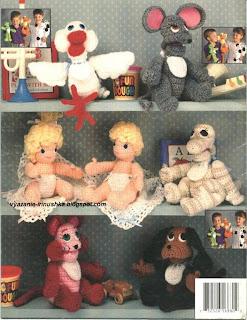 Crochet Happy Hands Puppets