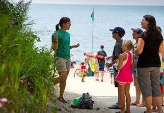 Showcasing the Michigan DNR: Explorer Guides educate and entertain at Michigan state parks