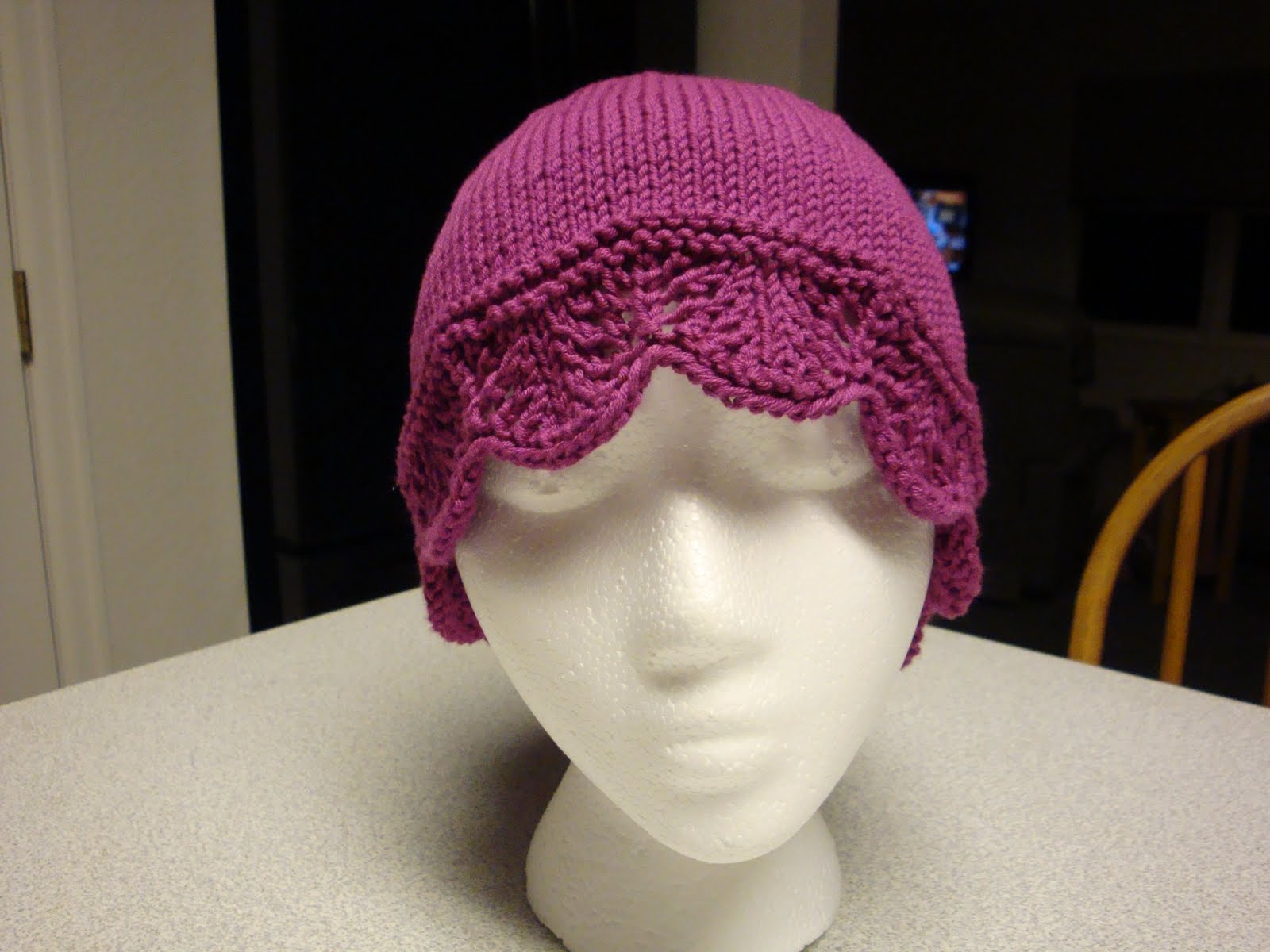 Knitted Chemo Cap Patterns Free : Chemo Cap Knitting Pattern   Design Patterns