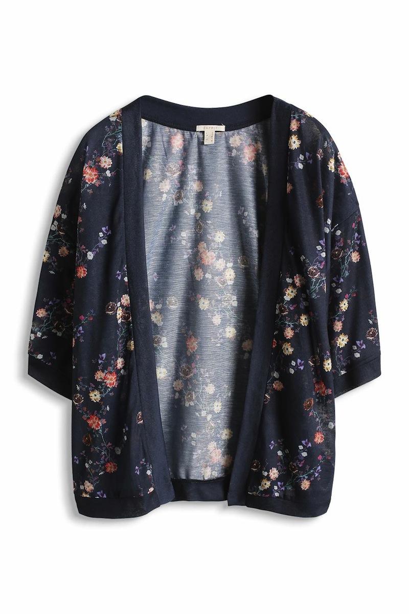 kimono a fleurs ESPRIT
