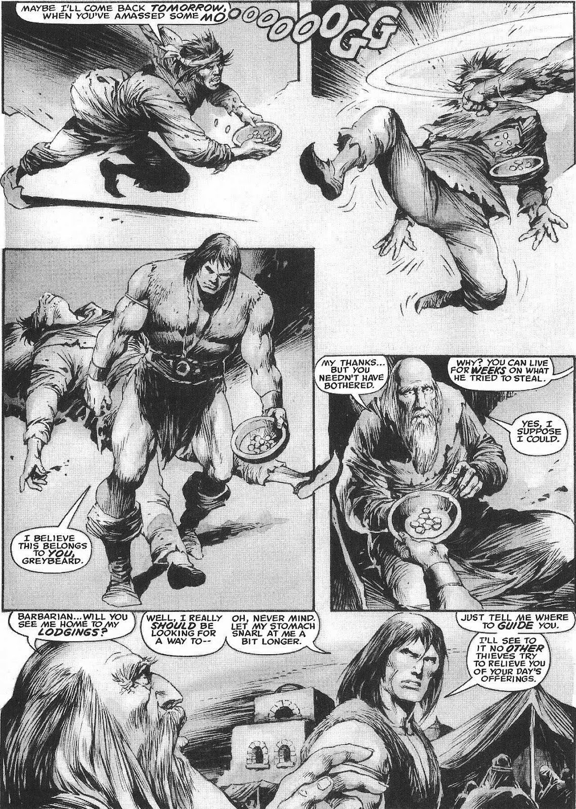The Savage Sword Of Conan Issue #207 #208 - English 28
