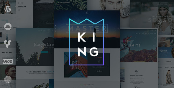 King - Responsive Multi-Purpose WordPress Theme