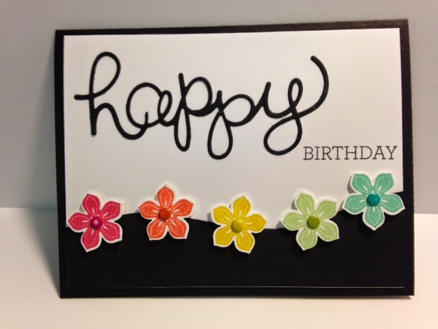 My Creative Corner A Petite Petals And Crazy About You Birthday Card