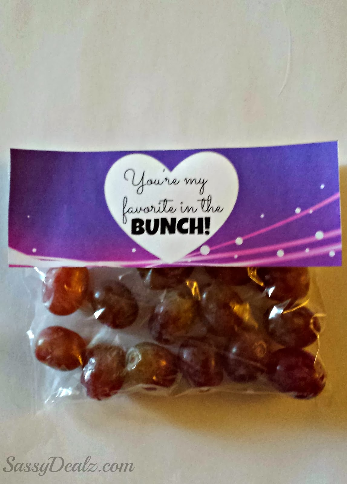 grapes valentine day gift