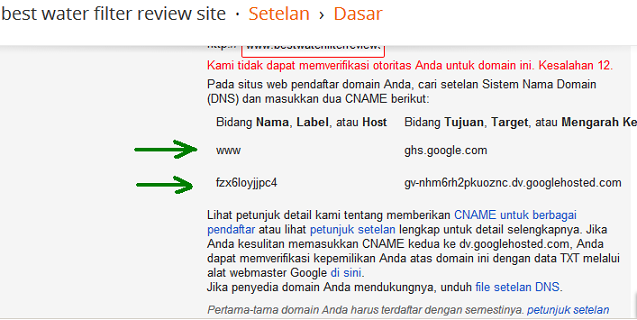 cara setting dns zone file blogspot di godaddy