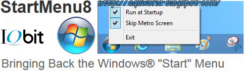 IObit StartMenu8 1.0 Beta 3.0