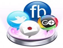 برنامج لفتح فيس بوك وتويتر وجوجل بلس معا