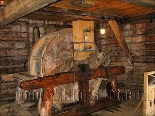 Заславль. Музей этнографии. Внутри мельницы
