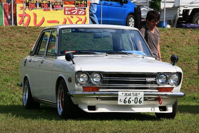 Datsun 510 stary japoński samochód klasyk oldschool