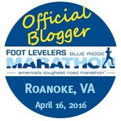 Official Blue Ridge Marathon Blogger