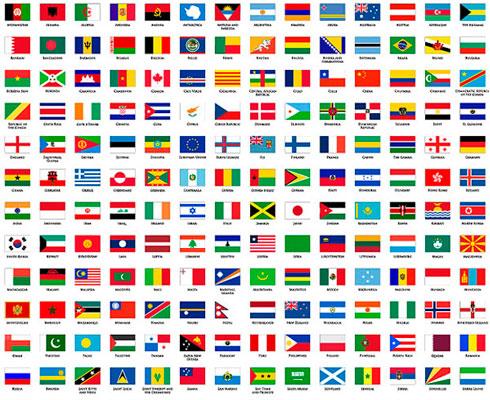 Banderas de todos los países del mundo - Marlon Silva Chero