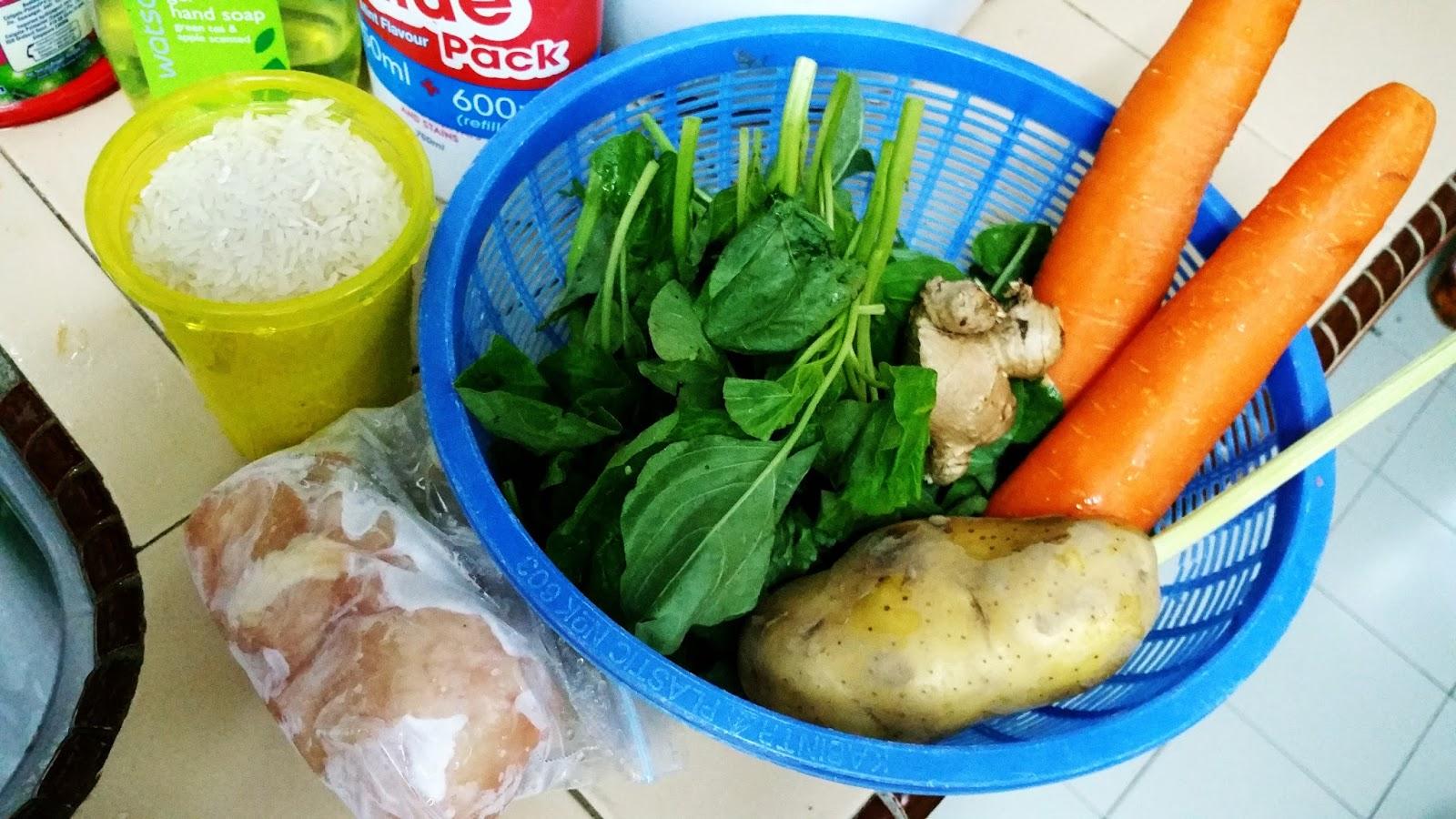Resepi bubur ayam dan bayam untuk bayi 6-9bulan - Prettyvrach