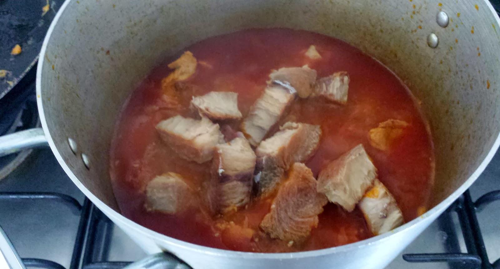 Mix crain crain en green plasas kalalu and molokhia for Bonita fish recipes