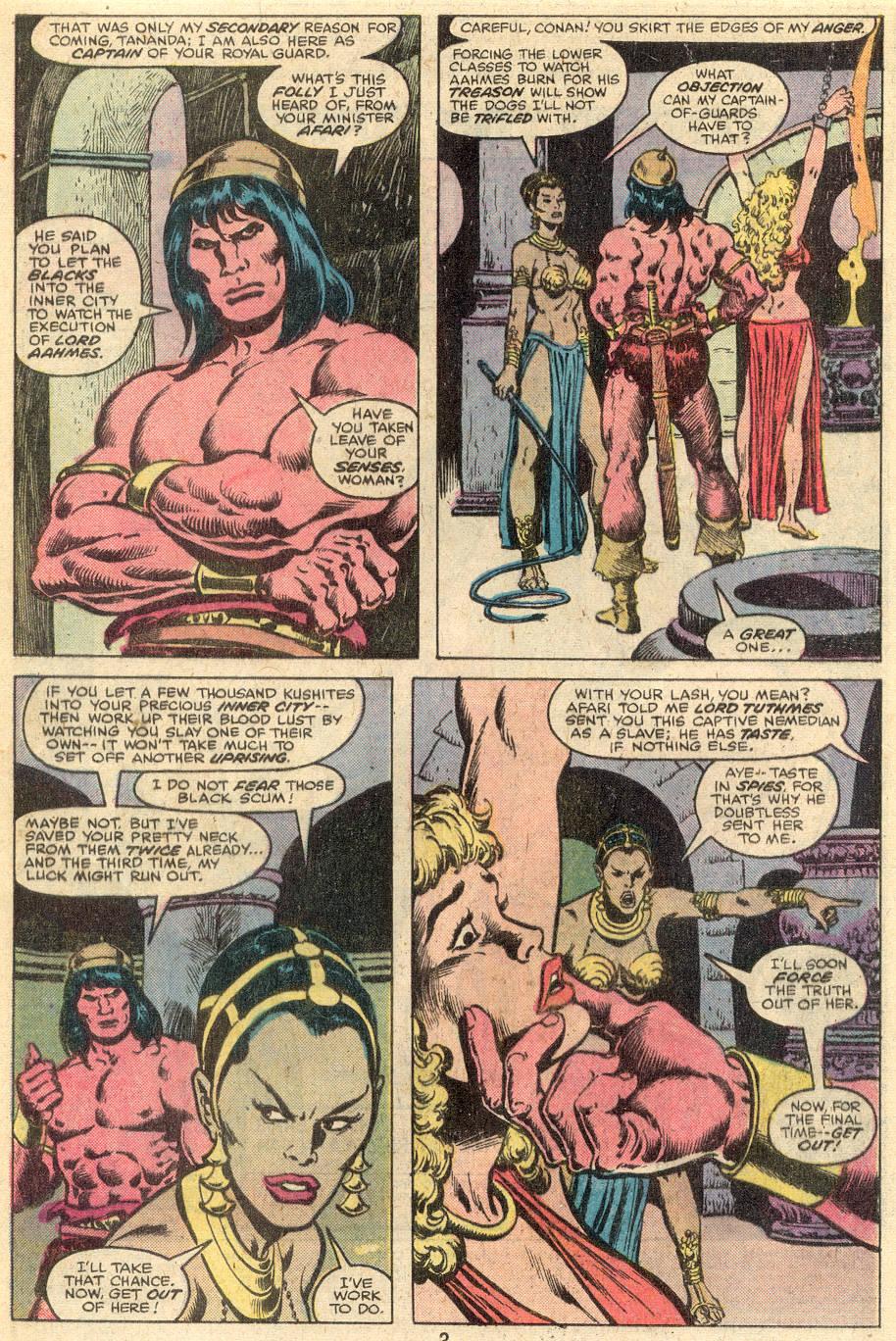Conan the Barbarian (1970) Issue #107 #119 - English 3