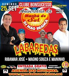 CLUBE BONSUCESSO - ANIVERSÁRIO DA MANHÃ DE SOL DO DJ MÃO BRANCA.