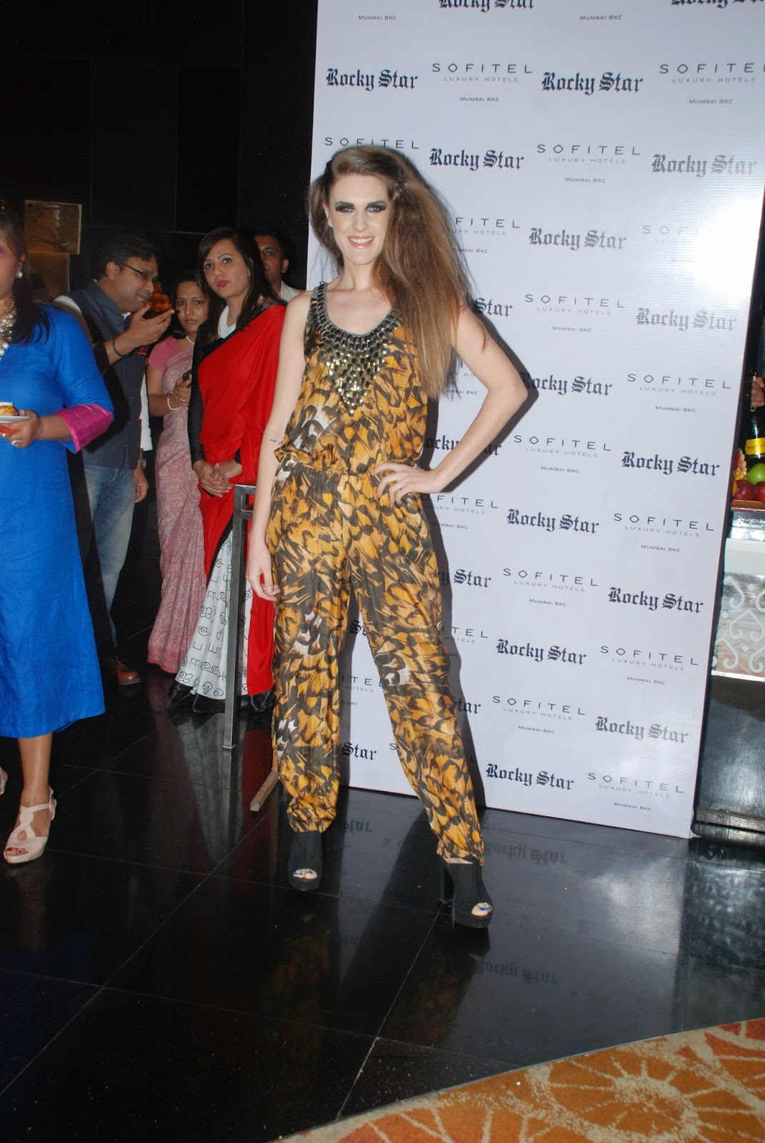 Rocky Star Fashion Show at Couture & Canvas Brunch at Sofitel,BKC