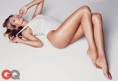Jessica Hart GQ Magazine September 2014 photoshoot