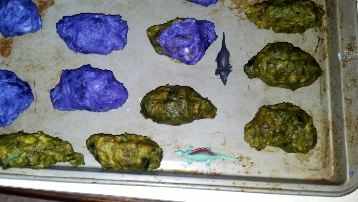 Dyed Natural Dinosaur Eggs Recipe