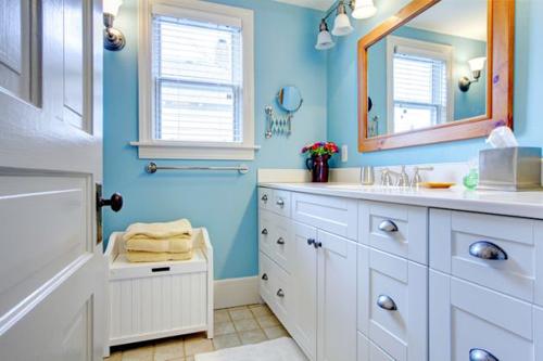 7 cách làm mới phòng tắm