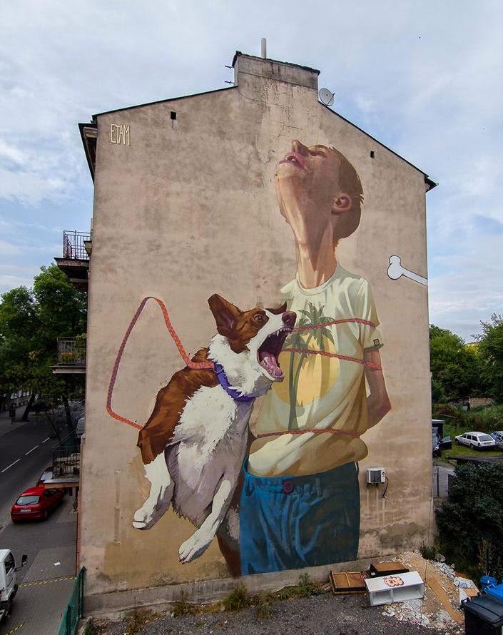 Etam Cru New Mural Lubin Poland Streetartnews