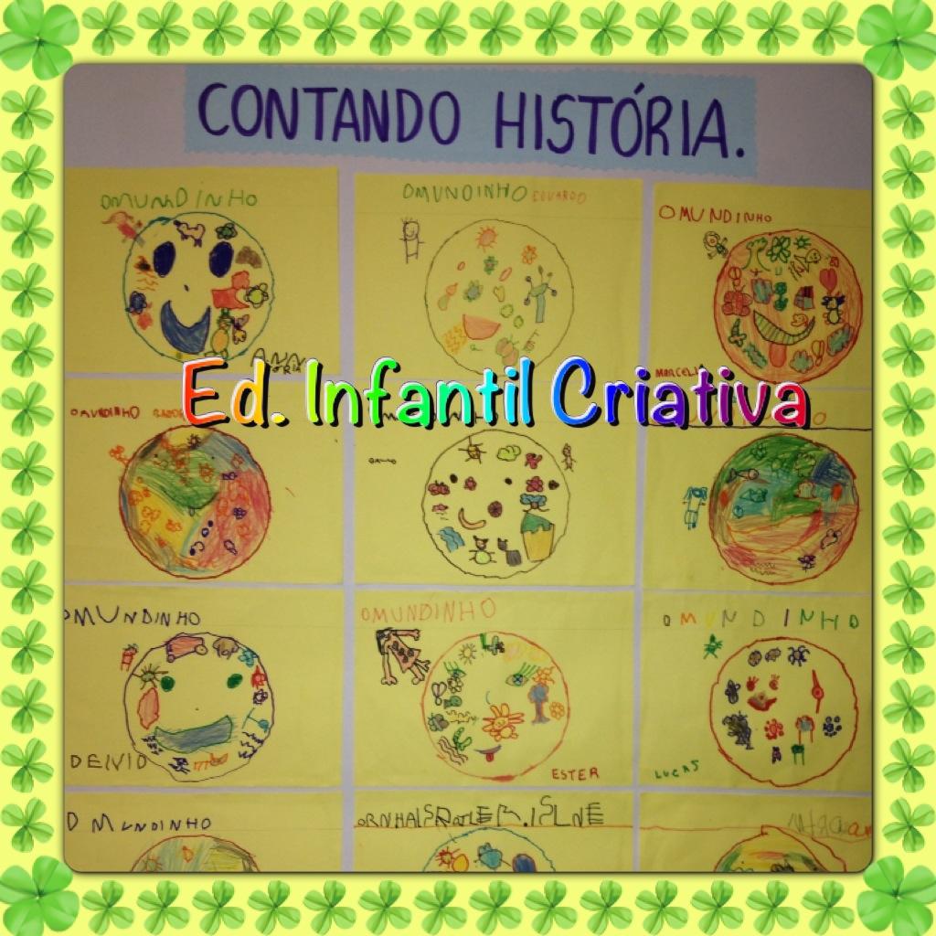 Fabuloso EDUCAÇÃO INFANTIL CRIATIVA: Ideias para o MEIO AMBIENTE FH71