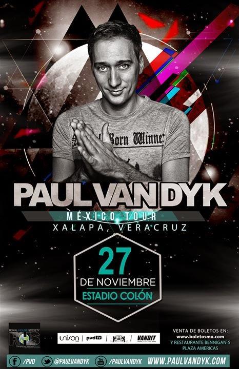 tour mexico Paul van dyk 2014